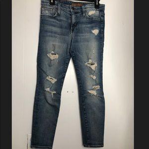 Distressed Joes Jeans